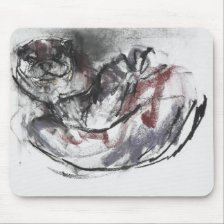 Dog Otter Mouse Mat