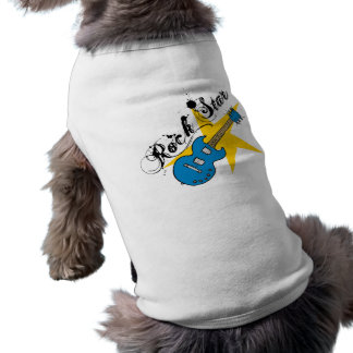 Dog & Owner Matching Rock Star Guitar Tees