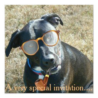 Dog party invitation