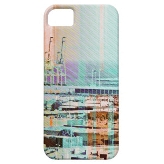 Dog patching Panorama in San francisco city iPhone 5 Cover