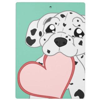dog pattern Clipboard. Clipboard