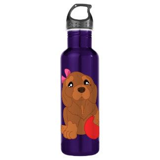 dog patterned Water Bottle