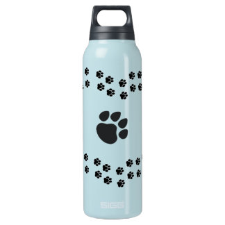 Dog Paw insulated water bottle