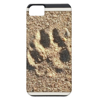 Dog Paw Print iPhone Case