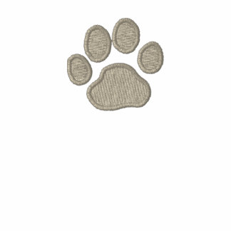Dog Paw Print with Custom Text and Colors Jacket