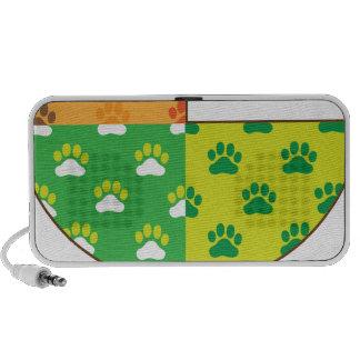 Dog Paw Seasons Speaker System