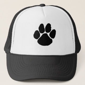 Dog Paw Trucker Hat for dog lovers