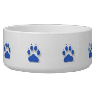 Dog Paws Canine Food Bowl - Customizable! Dog Bowl