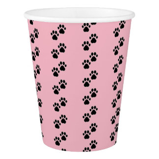 Dog Paws on Pink