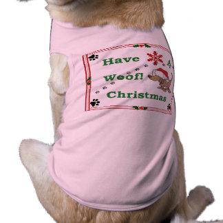 Dog Pet Christmas Woof! Shirt