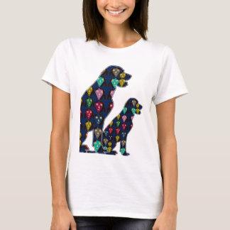 Dog PET LABRADOR dot painted pet navinJOSHI T-Shirt