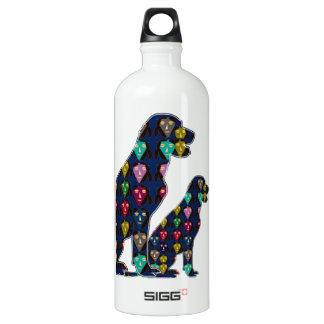 dog PET LABRADOR dot painted pet Water Bottle