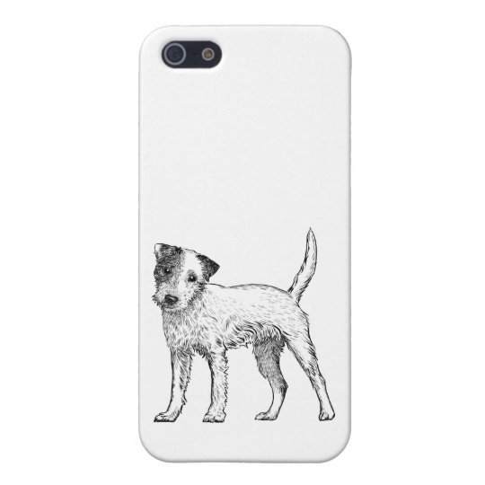 Dog Phone Case 5/5s Jack Russell / Parsons