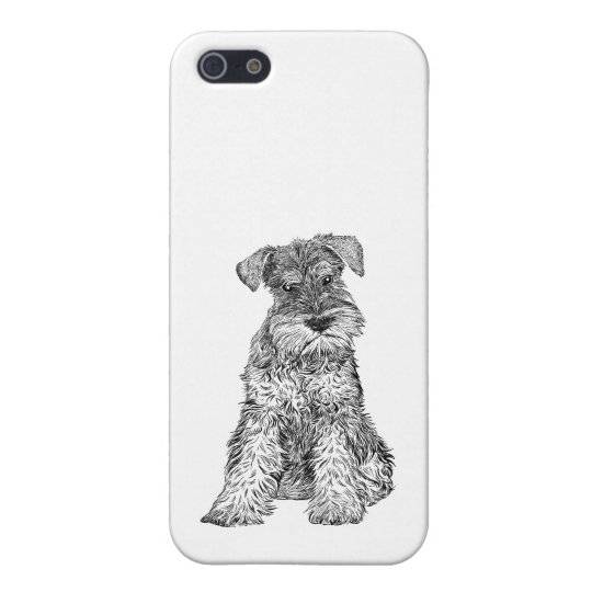 Dog Phone Case 5/5s Schnauzer iPhone 5 Covers