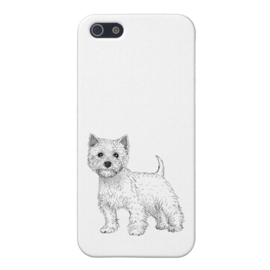 Dog Phone Case 5/5s West Highland Terrier iPhone