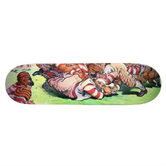 Dog Pile On The Gridiron Skateboard Decks