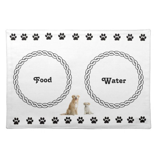 Dog place mat