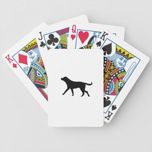 dog bicycle card decks