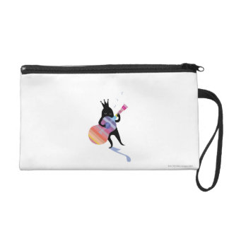 Dog Playing Guitar Wristlet
