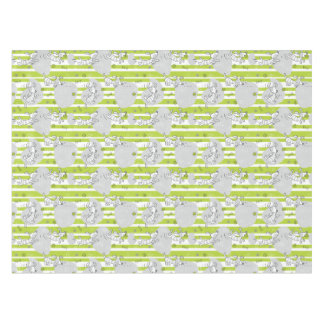 dog playing pattern background tablecloth