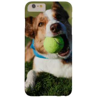 Dog Playing with its ball Barely There iPhone 6 Plus Case