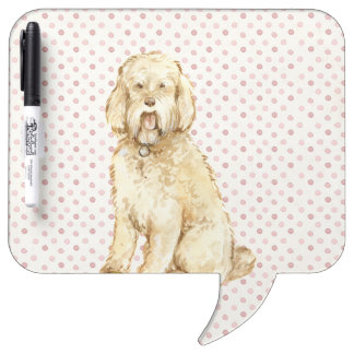 Dog Portrait Dry Erase Board