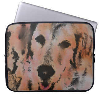 DOG PORTRAIT SANDY LAPTOP COMPUTER SLEEVES