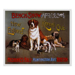 Dog Poster Print:  New England Kennel Club 1890
