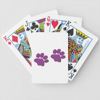 Dog Prints Deck Of Cards
