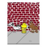 Dog Public Bathrooms Funny Cartoon Tees & Gifts