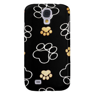 Dog Puppy Paw Prints Gifts for Dog Lovers Galaxy S4 Case