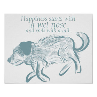 Dog Quote Art Print, Dog Art Print, Puppy Wall Art