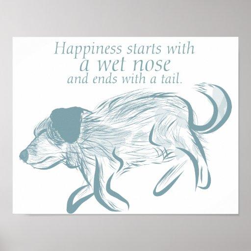 Dog Quote Art Print, Dog Art Print, Puppy
