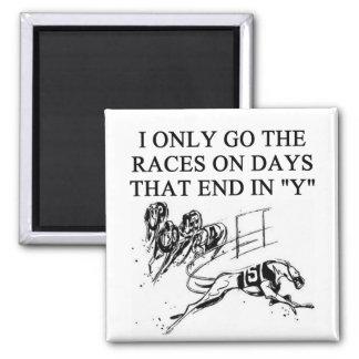 dog racing proverb magnet