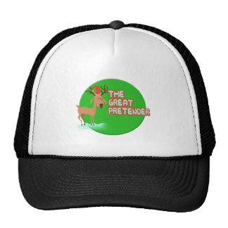 Dog Reindeer The Great Pretender Trucker Hat