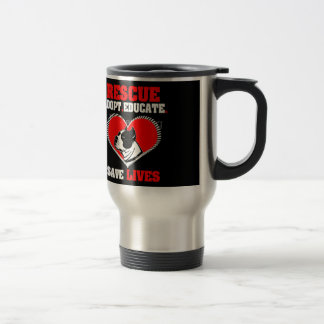 Dog Rescue Travel Mug