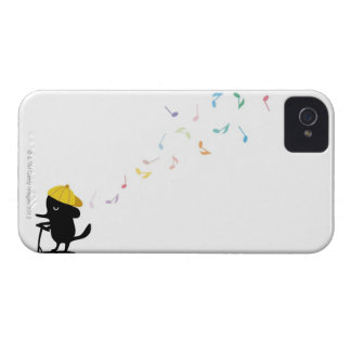 Dog Riding Scooter iPhone 4 Case-Mate Case