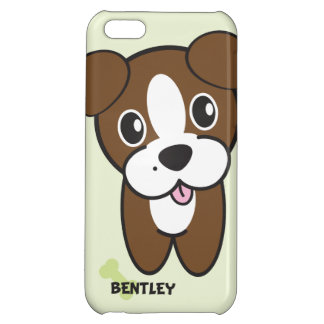 Dog Rockets Cartoons™ - Bentley Cover For iPhone 5C