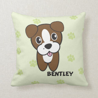 Dog Rockets Cartoons™ - Bentley Cushion