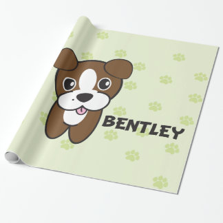 Dog Rockets Cartoons™ - Bentley Wrapping Paper