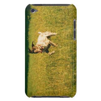 Dog running through grass iPod touch Case-Mate case