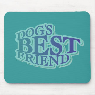 Dog s Best Friend Tshirts and Gifts Mousepads