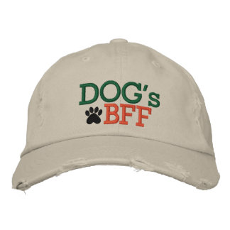 Dog s BFF by SRF Embroidered Baseball Cap