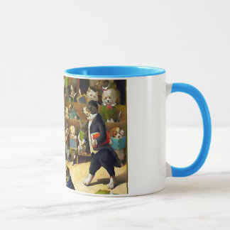 Dog School by Louis Wain Mug
