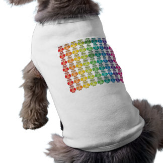 Dog Shirt - Cute Rainbow Owl Pattern