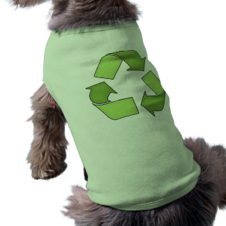 Dog Shirt-Go Green-Recyle Shirt