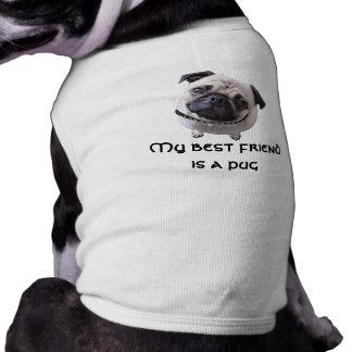 "Dog shirt ""pug """