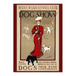 """Dog Show 5"""" X 7"""" Invitation Card"""