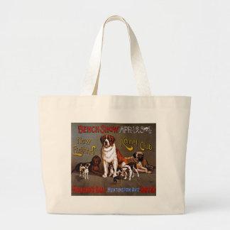 Dog Show New England Kennel Club Canvas Bag