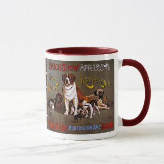 Dog Show, New England Kennel Club Mug